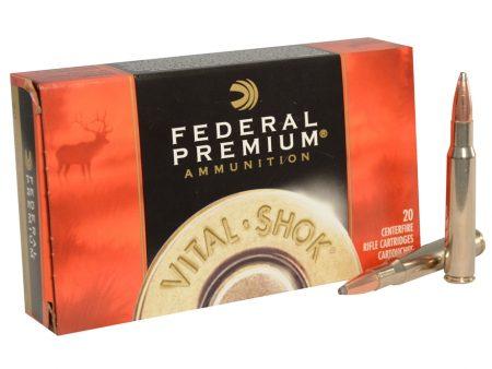 Federal Vital Shok 30-06 Spring 165gr Nosler Partition