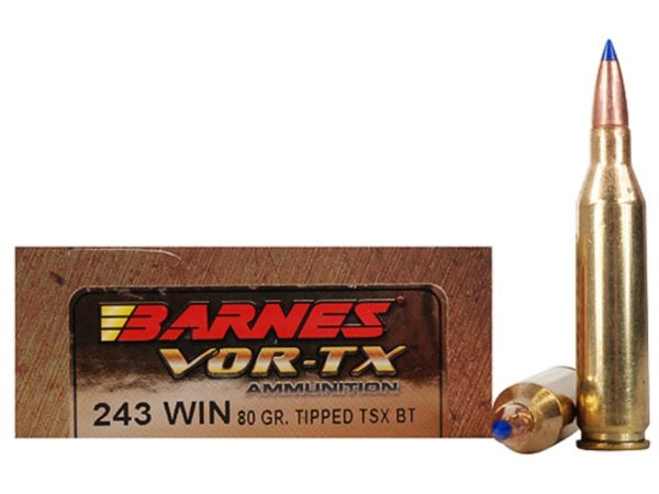 Rifle ammunition Barnes Vor-tx