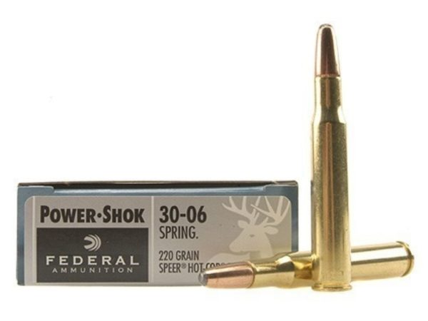 Federal Power Shok 30-06