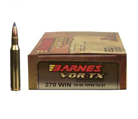 Rifle ammunition Barnes Vor-tx